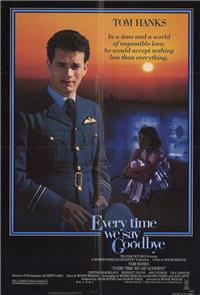 Every Time We Say Goodbye (1986) 1080p Poster