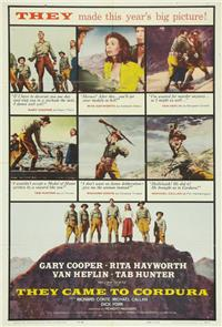 They Came to Cordura (1959) 1080p Poster