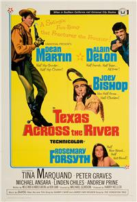 Texas Across the River (1966) 1080p Poster