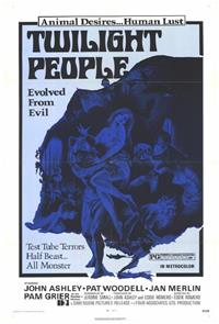 The Twilight People (1972) Poster