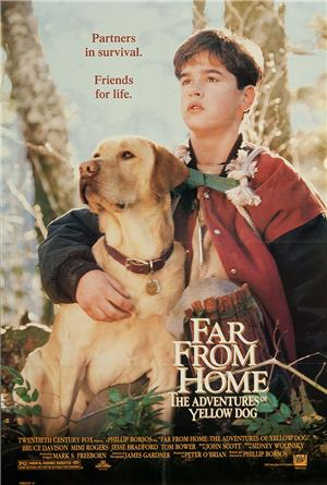 Far from Home: The Adventures of Yellow Dog (1995) 1080p Poster