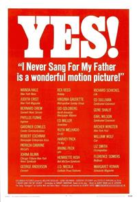 I Never Sang for My Father (1970) 1080p Poster