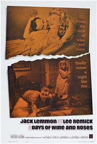 Days of Wine and Roses (1962) Poster