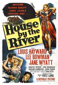 House by the River (1950) 1080p Poster