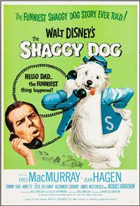 The Shaggy Dog (1959) 1080p Poster