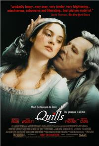 Quills (2000) 1080p Poster