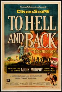 To Hell and Back (1955) poster