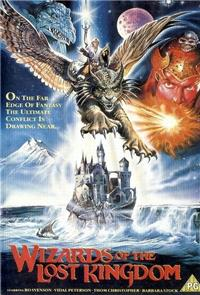 Wizards of the Lost Kingdom (1985) poster
