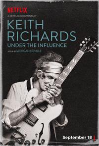 Keith Richards: Under the Influence (2015) 1080p poster