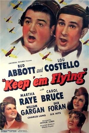 Keep 'Em Flying (1941) Poster