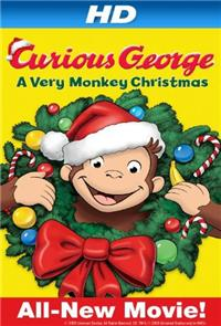 Curious George: A Very Monkey Christmas (2009) 1080p Poster