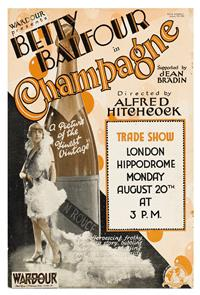 Champagne (1928) 1080p poster