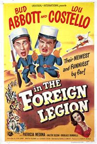 Abbott and Costello in the Foreign Legion (1950) poster