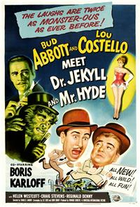 Abbott and Costello Meet Dr. Jekyll and Mr. Hyde (1953) poster