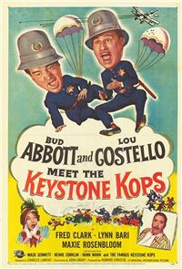 Abbott and Costello Meet the Keystone Kops (1955) poster