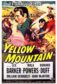 The Yellow Mountain (1954) poster