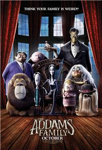 The Addams Family (2019) 1080p Poster
