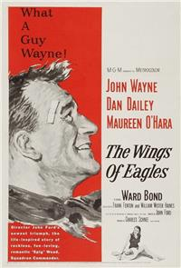 The Wings of Eagles (1957) 1080p Poster