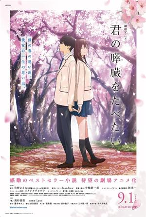 I Want to Eat Your Pancreas (2018) 1080p Poster