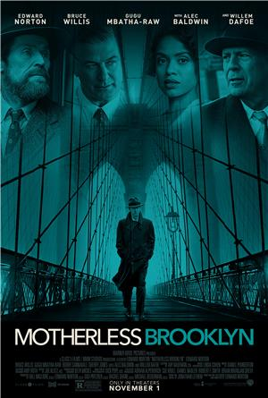 Motherless Brooklyn (2019) 1080p Poster
