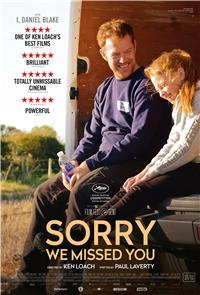 Sorry We Missed You (2019) poster
