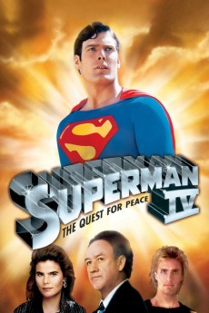Superman IV: The Quest for Peace (1987) 1080p bluray Poster