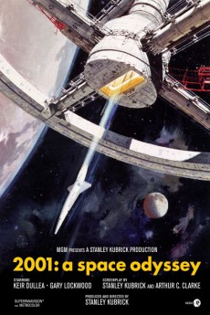 2001: A Space Odyssey (1968) 1080p bluray Poster
