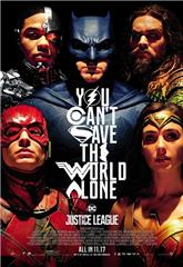 Justice League (2017) bluray Poster