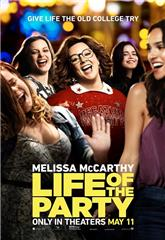 Life of the Party (2018) bluray Poster