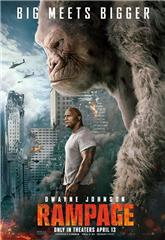 Rampage (2018) bluray Poster