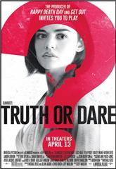 Truth or Dare (2018) bluray Poster