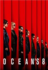Ocean's Eight (2018) bluray Poster