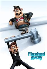 Flushed Away (2006) bluray Poster