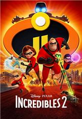 Incredibles 2 (2018) 1080p bluray Poster