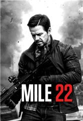 Mile 22 (2018) bluray Poster