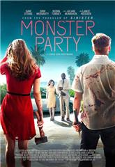 Monster Party (2018) bluray Poster