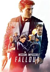 Mission: Impossible - Fallout (2018) bluray Poster