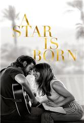 A Star Is Born (2018) bluray Poster