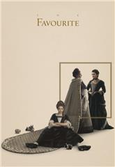 The Favourite (2018) bluray Poster