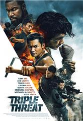 Triple Threat (2019) bluray Poster