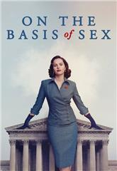 On the Basis of Sex (2018) bluray Poster