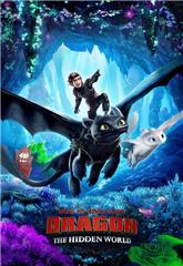 How to Train Your Dragon: The Hidden World (2019) bluray Poster