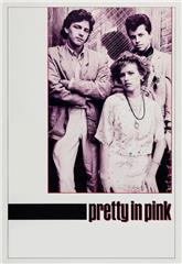 Pretty in Pink (1986) bluray Poster