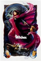The Witches (1990) bluray Poster