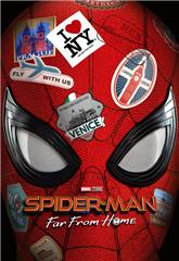 Spider-Man: Far from Home (2019) 4K bluray Poster