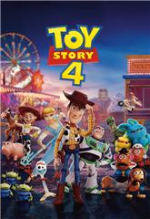 Toy Story 4 (2019) 4K bluray Poster