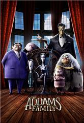 The Addams Family (2019) bluray Poster