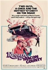 Return to Macon County (1975) bluray Poster