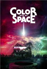 Color Out of Space (2019) bluray Poster