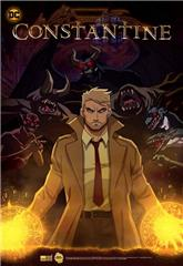 Constantine: City of Demons (2018) bluray Poster